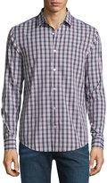 Original Penguin Check Long-Sleeve Shirt