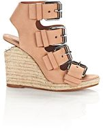 Alexander Wang Jo Espadrille Wedge Sandal With Rhodium