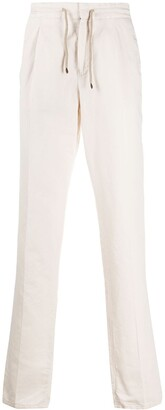 Brunello Cucinelli Drawstring Straight-Fit Trousers