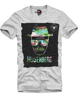 E1syndicate T-Shirt Heisenberg Flamingo Breaking Bad Better Call Saul Grey S-Xl