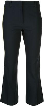 Derek Lam 10 Crosby Tuxedo Stripe Cropped Trousers
