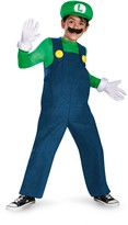 Disguise Super Mario Bros. Luigi Deluxe Costume (Little Boys & Big Boys)