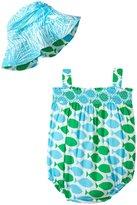Masala Pop Bodysuit Set (Baby) - Turquoise-3-6 Months