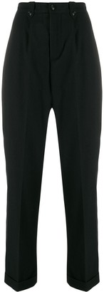 Woolrich Turn-Up Hem Cropped Trousers