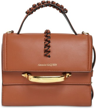 Alexander McQueen The Story Domino Leather Bag