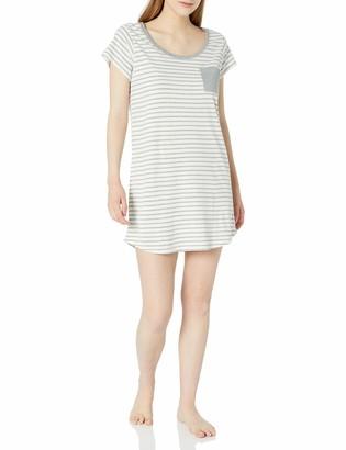 Mae Amazon Brand Women's Sleepwear Pocket Nightgown