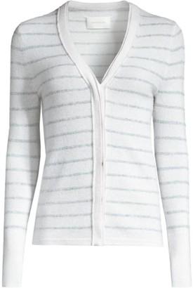 Brochu Walker Ciri Striped Cashmere Cardigan