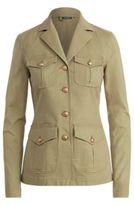 Ralph Lauren Boxy Cotton Canvas Jacket Autumn Sage 6P