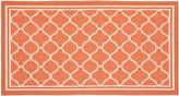 Safavieh Vale Outdoor Rug, Terracotta