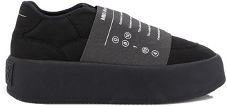 MM6 MAISON MARGIELA Panelled Printed Sneakers