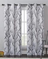 "Victoria Classics Kingdom Branch-Print 40"" X 84"" Blackout Window Panel Bedding"