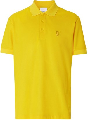 Burberry TB motif polo shirt