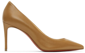 Christian Louboutin Brown Nappa Kate 85 Heels
