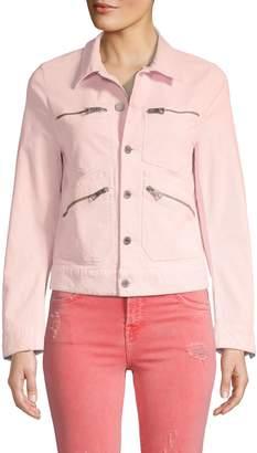 Zadig & Voltaire Full-Zip Corduroy Jacket
