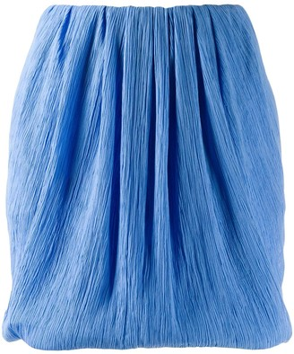 Nina Ricci micro-pleated mini skirt
