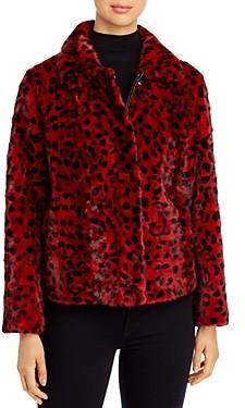 Maximilian Furs Leopad Print Mink Fur Coat - 100% Exclusive