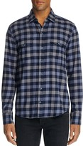 Paige Check Flannel Regular Fit Button Down Shirt