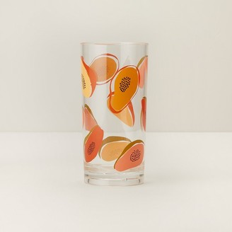 Indigo Papayas Acrylic Highball Glass