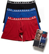 HUGO BOSS Stretch Cotton Cyclist Boxer Brief 3-Pack