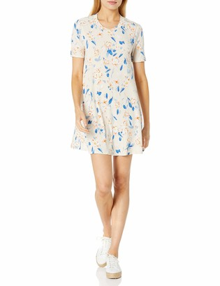 BCBGeneration Women's Spring Floral T-Shirt Dress
