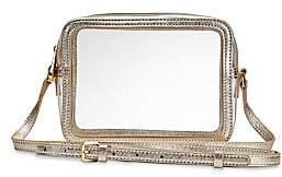 GiGi New York Women's Collins PVC & Metallic Leather Camera Bag