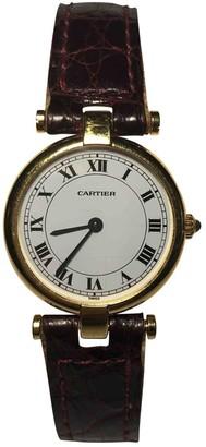 Cartier Burgundy Yellow gold Watches