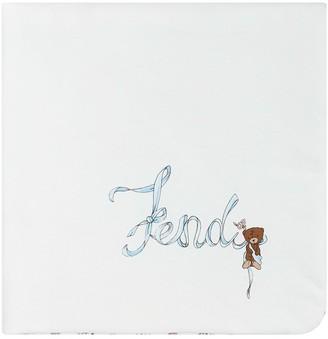 Fendi Kids BGirl blanket