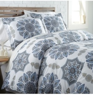 SouthShore Fine Linens Infinity Reversible Comforter and Sham Set, Twin Bedding