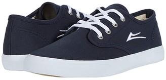 Lakai Oxford (Little Kid/Big Kid) (Navy Canvas) Men's Shoes