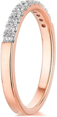 9ct Rose Gold 0.25ct Diamond micro setting eternity ring