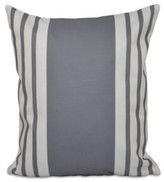 Thumbnail for your product : e by design 16 Inch Gray Decorative Striped Throw Pillow