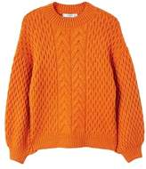 mango-cable-knit-oversize-sweater