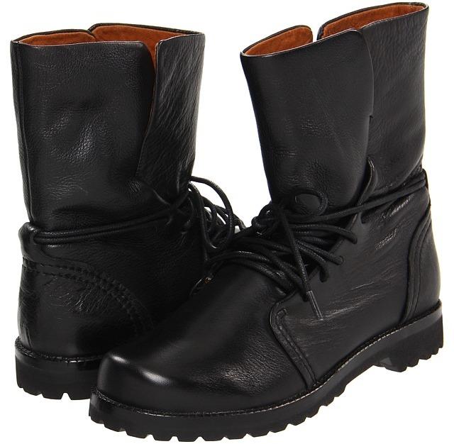 Gentle Souls Warm N Cozy (Black Leather) - Footwear