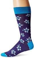 Bugatchi Men's Flower Time Fancy Sock