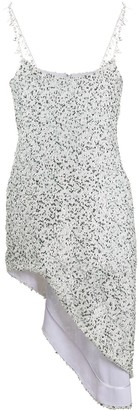 Halpern Georgette sequin dress