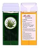 Belle 150g(5.30oz) Water Soluble Depilatory Sugar Wax Cartridge Waxing Aloe Vera with Honey 2 Wax Rollers on for Professional Use