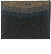 Fendi colour block cardholder - men - Leather - One Size
