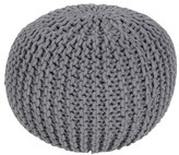 Surya Alexia Knotted Sphere Pouf