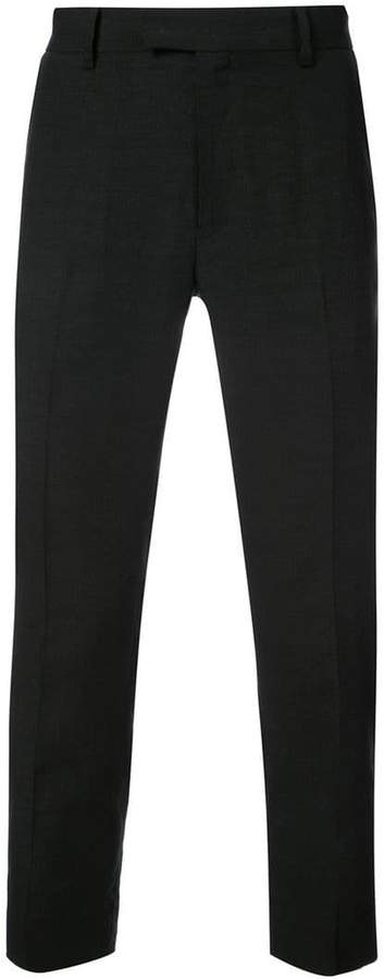 Christian Dada slim belted trousers