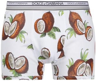 Dolce & Gabbana Coconut Print Boxers