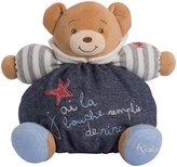 Kaloo Blue Denim Bear, Medium, Happy
