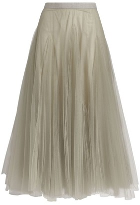 Fabiana Filippi Tulle Midi Skirt