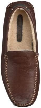 Trask Denton Genuine Shearling Lined Bison Leather Loafer