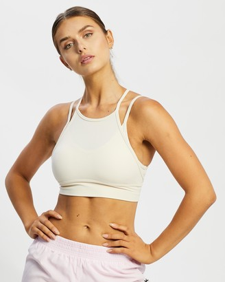 Nike Women's White Crop Tops - Dri-FIT Indy Yoga Bra - Size XS at The Iconic