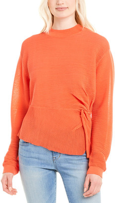 Mason by Michelle Mason Twisted Sweater