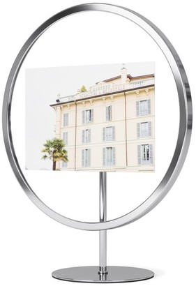 Umbra Chrome 5x7 Round Infinity Picture Frame