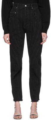 Thierry Mugler Black Twist Jeans