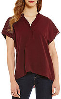 Daniel Cremieux Amy Collared Dolman Blouse
