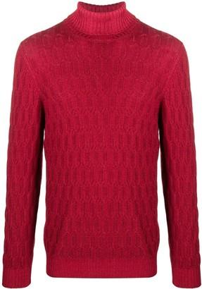 Tagliatore Igor cable-knit virgin wool jumper