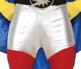 Forum Novelties Inc. Super Hero Metallic Mini Booty Shorts Adult Comic Books Costume Accessory
